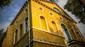 Die kreuzkirche in istanbul von unten